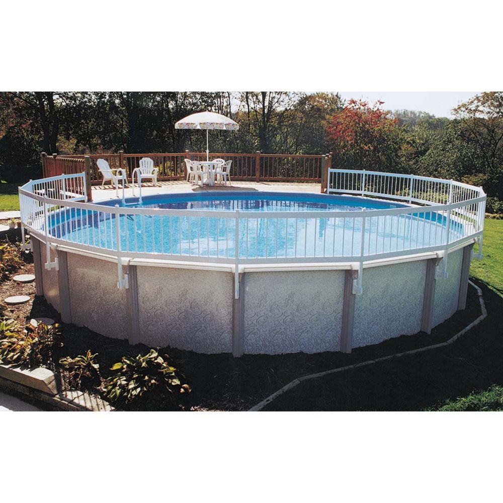 Above Ground Pool Fence above-ground pool fence kit a set