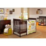 NoJo Zoobilee 4-pc. Zoo Animals Crib Bedding Set