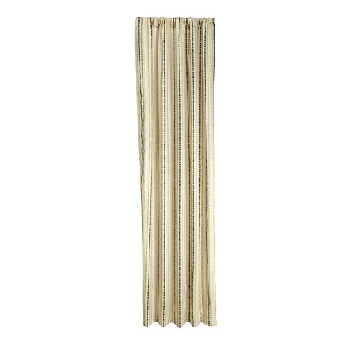 NoJo Zoobilee Stripe Window Curtains