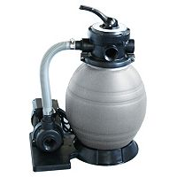Blue Wave Above Ground Pool .5-HP Sand Filter System