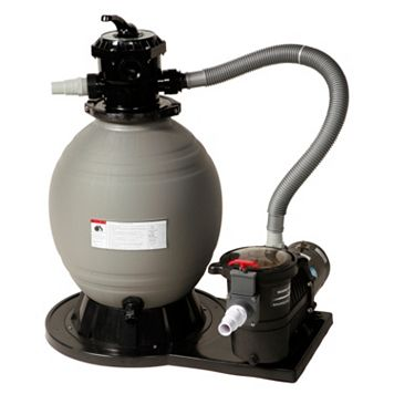 Blue Wave Above Ground Pool 1-HP Sand Filter System