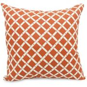 Majestic Home Goods Bamboo Indoor Outdoor Throw Pillow