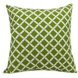 Majestic Home Goods Grid Indoor Outdoor Throw Pillow