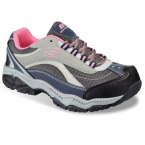 Skechers Relaxed Fit Doyline Women's Steel-Toe Work Shoes