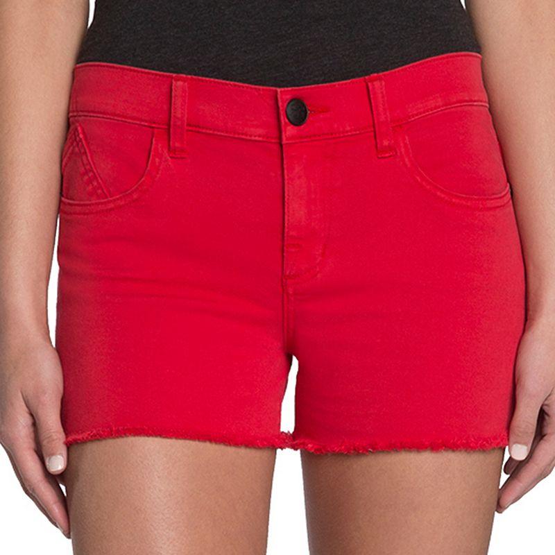 Rock & Republic® Frayed Jean Shorts - Women's