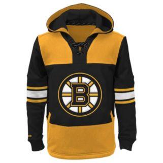 Boys 8-20 Reebok Boston Bruins Offside Fleece Hoodie