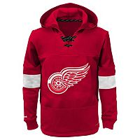 Boys 8-20 Reebok Detroit Red Wings Offside Fleece Hoodie