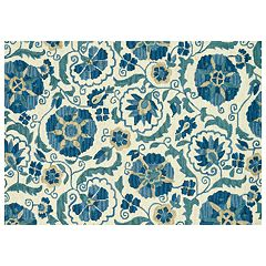 Loloi Mayfield Floral Wool Rug