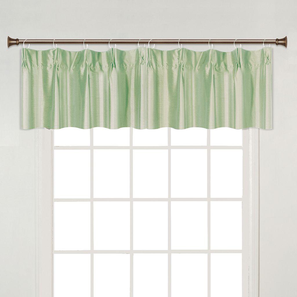 United Curtain Co. Anna Pinch-Pleat Window Valance - 38'' x 18''