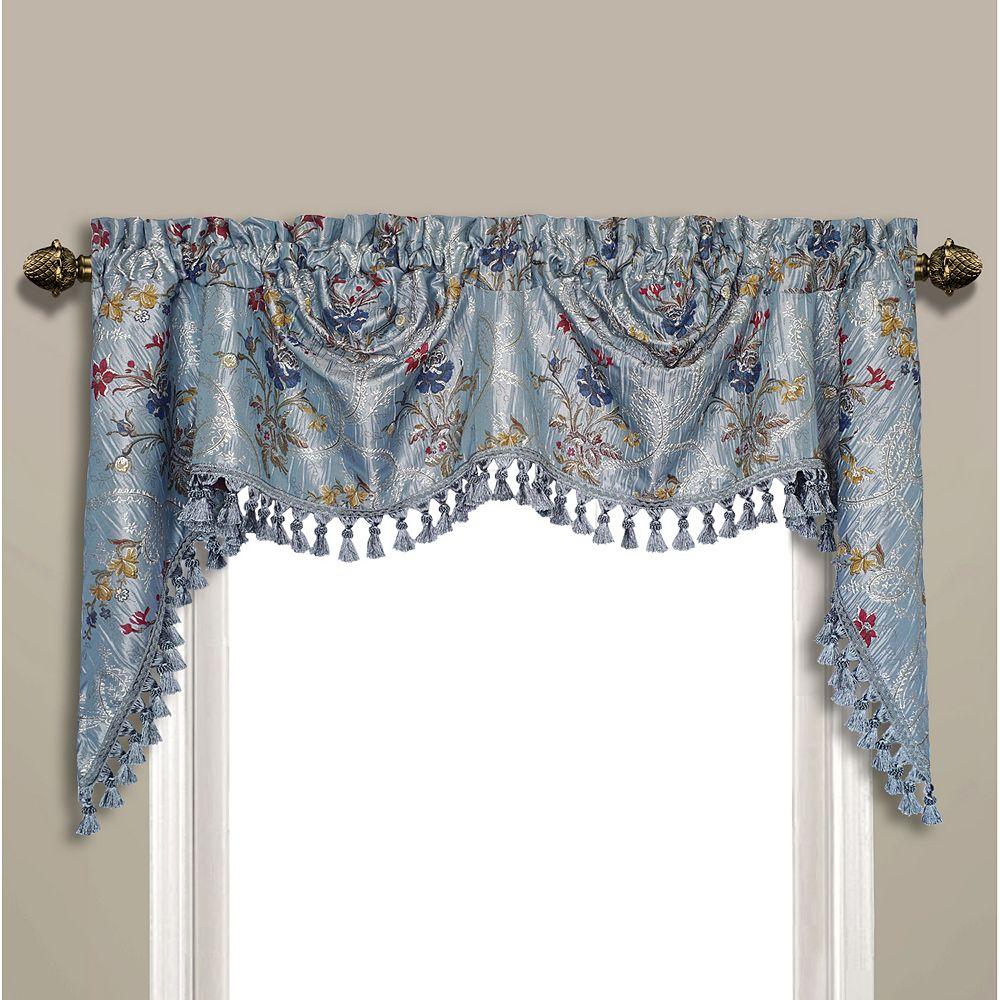 United Curtain Co. Jewel Window Valance - 108'' x 30''