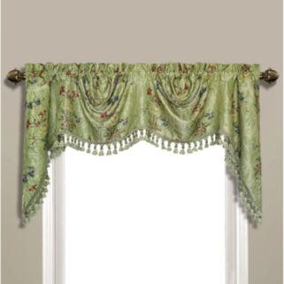 United Curtain Co. Jewel Valance - 108'' x 30''
