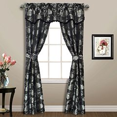 United Curtain Co. Carrington 5 pc Window Treatment Set