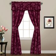 United Curtain Co. Carrington 5 pc Window Treatment Set