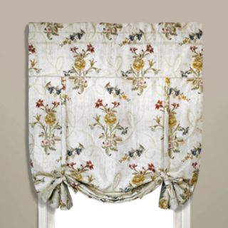 United Curtain Co. Jewel Tie-Up Shade - 40'' x 63''