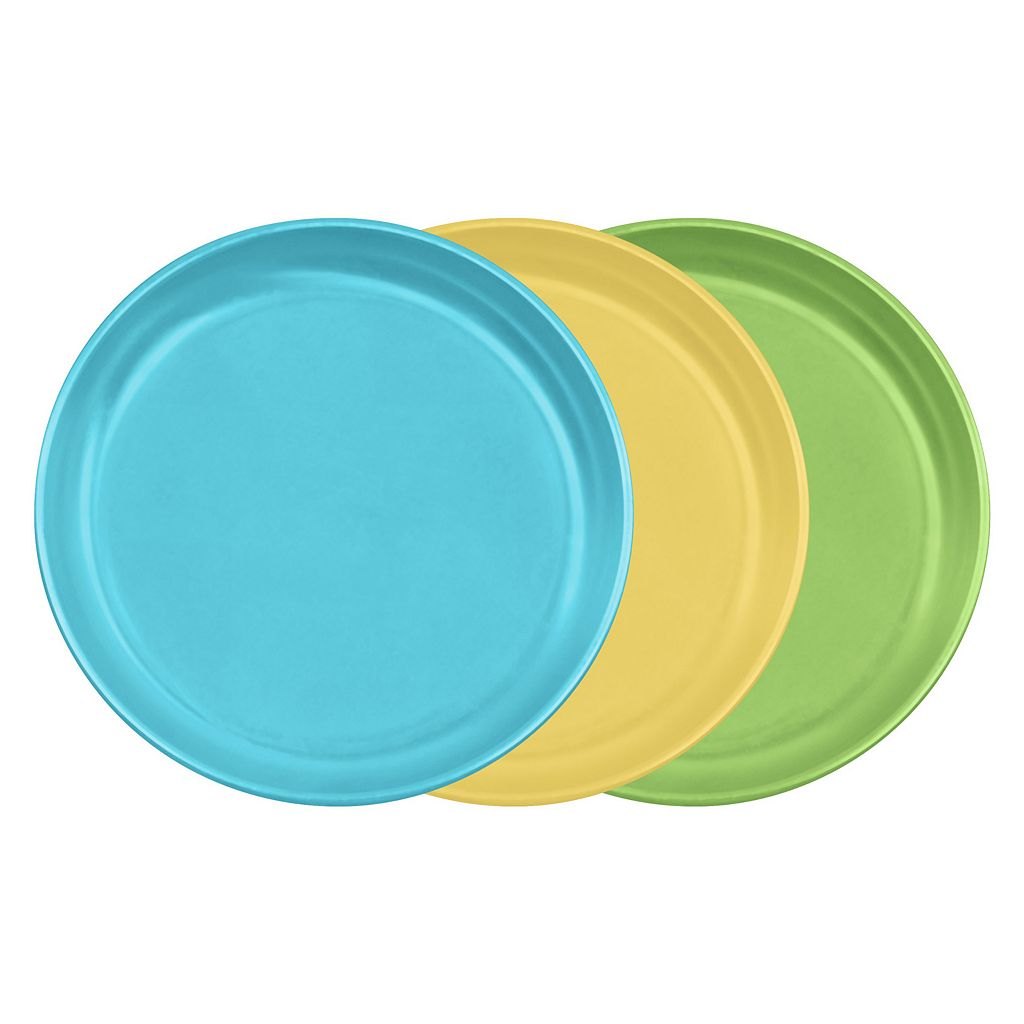 Green Sprouts by i play. 3-pk. Sprout Ware Plates