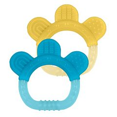 Green Sprouts by i play. 2-pk Sili Paw Teether