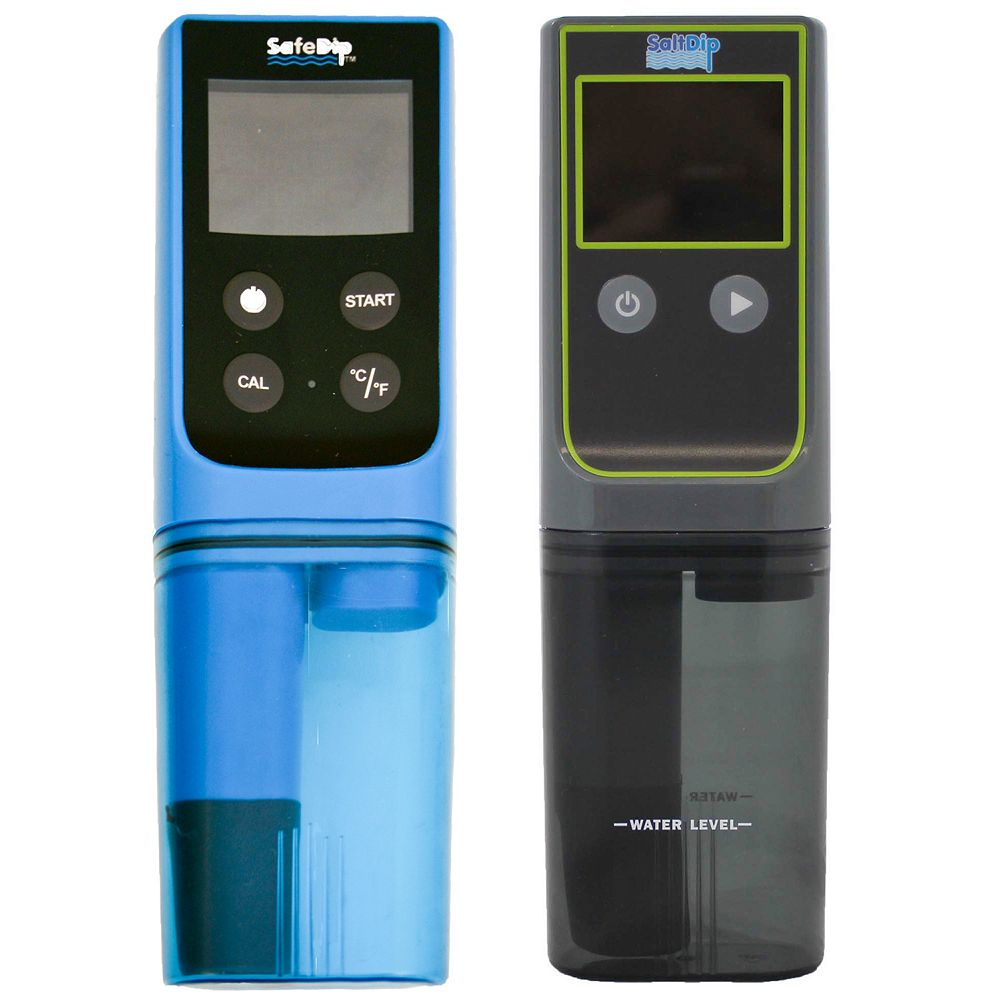 solaxx safe dip 6 in 1 electronic pool spa water tester