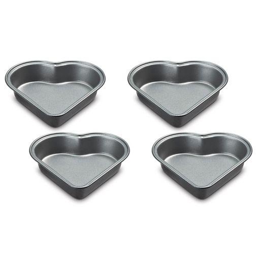 Cuisinart 4-pc. Nonstick Mini Heart Pan Set