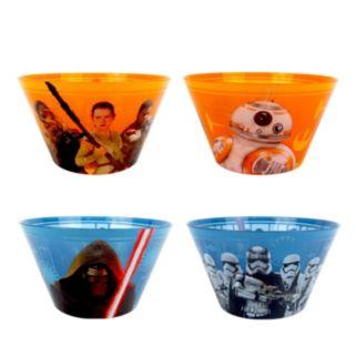 Star Wars: Episode VII The Force Awakens 4-pc. Melamine Bowl Set