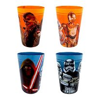Star Wars: Episode VII The Force Awakens 4-pc. Melamine Cup Set