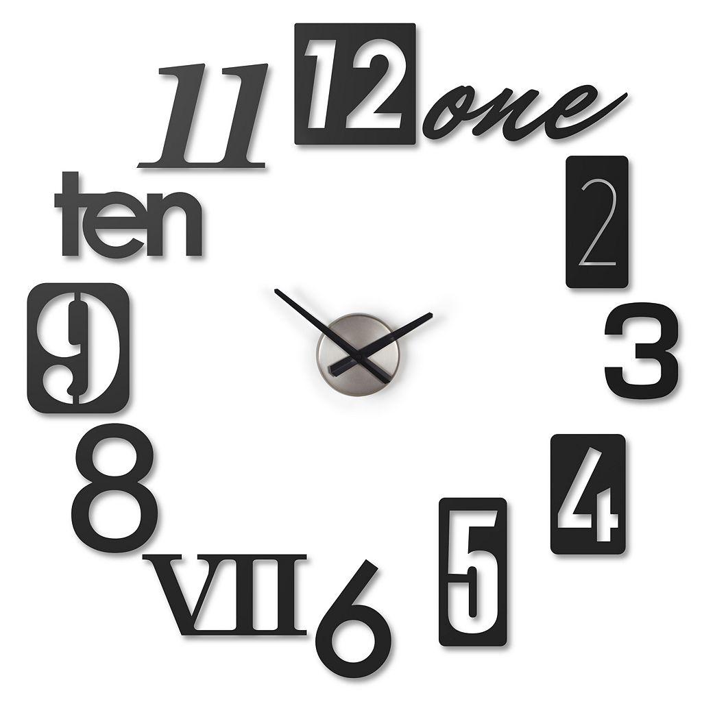 Umbra Numbra Wall Clock