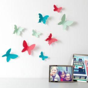 Umbra Mariposa Vibrant Butterfly Wall Decor