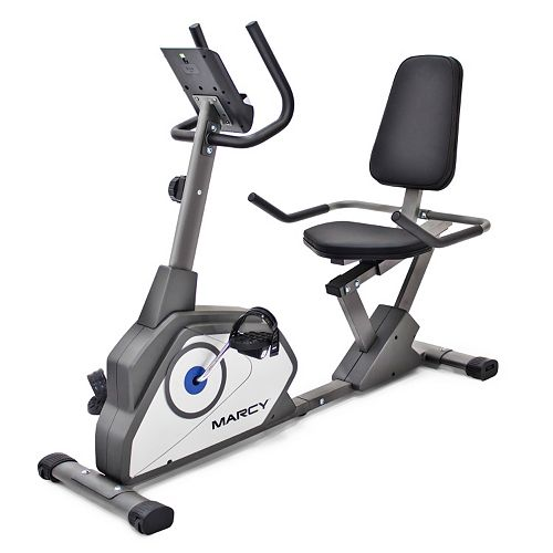 Marcy Magnetic Recumbent Exercise Bike (NS-40502R)
