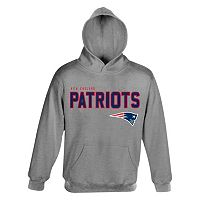 Boys 4-7 New England Patriots Promo Fleece Hoodie
