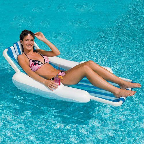 Swimline SunChaser Sling Lounger Pool Float