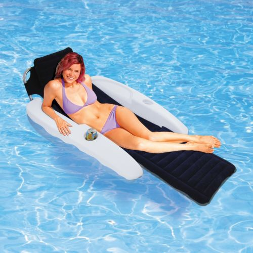 Blue Wave Aqua Chaise Padded Pool Lounger