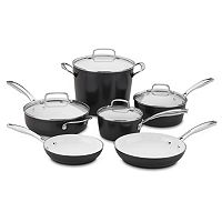 Cuisinart Elements Pro Nonstick Ceramic 10 pc Cookware Set