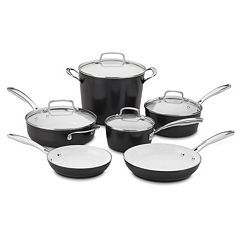 Cuisinart Elements Pro Nonstick Ceramic 10-pc. Cookware Set