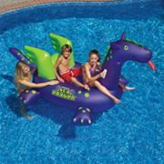 Swimline Giant Sea Dragon 9-ft. Inflatable Ride-On Pool Toy