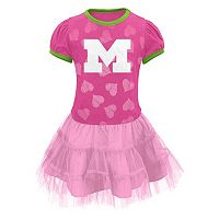 Baby Michigan Wolverines Tutu Dress