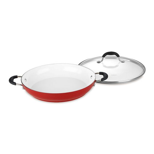 Cuisinart Elements Nonstick Ceramic 12 In Covered Everyday Pan