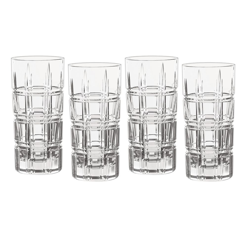 Marquis by Waterford Crystal Crosby 4-pc. Highball Glass Set