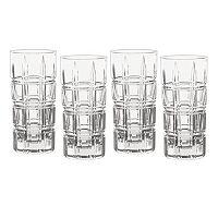 Marquis by Waterford Crystal Crosby 4 pc Highball Glass Set