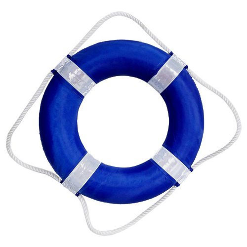Blue Wave Pool Swim Lifesaver Ring