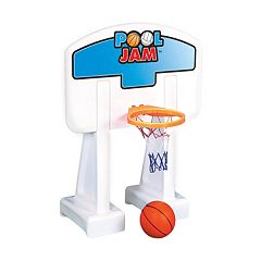 Swimline In-Ground Pool Jam Basketball Game Set