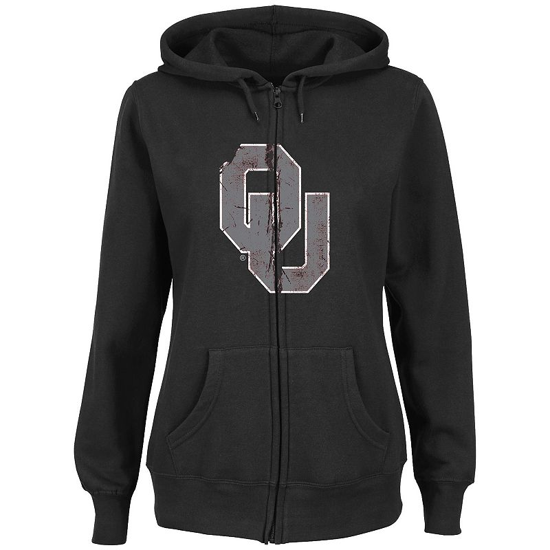 Women's Section 101 by Majestic Oklahoma State Cowboys Sudden Victory Fleece Hoodie