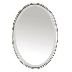 Uttermost Sherise Oval Beveled Wall Mirror