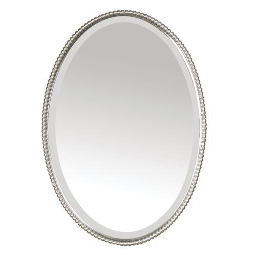 Sherise Oval Beveled Wall Mirror