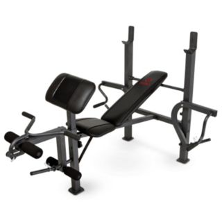 Marcy Diamond Standard Bench with Butterfly Attachment