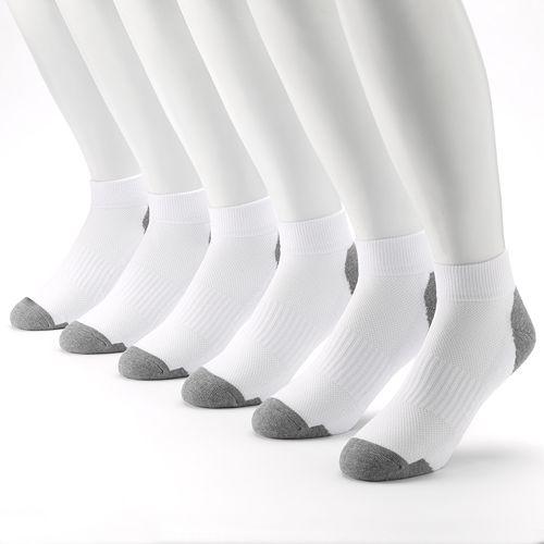 Men's Tek Gear® 6-Pack Performance Quarter-Crew Socks