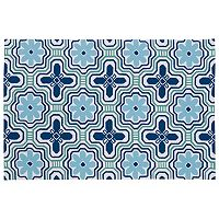 Kaleen Matira Mosaic Indoor Outdoor Rug