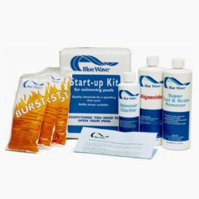 Blue Wave Medium Pool Chemical Spring Start-Up Kit