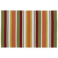Kaleen Matira Stripes Indoor Outdoor Rug