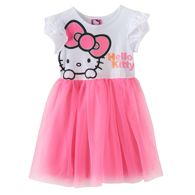 Hello Kitty® Tutu Dress - Girls 4-6x