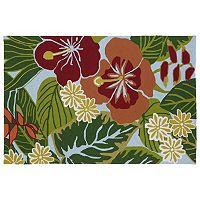 Kaleen Matira Hibiscus Indoor Outdoor Rug