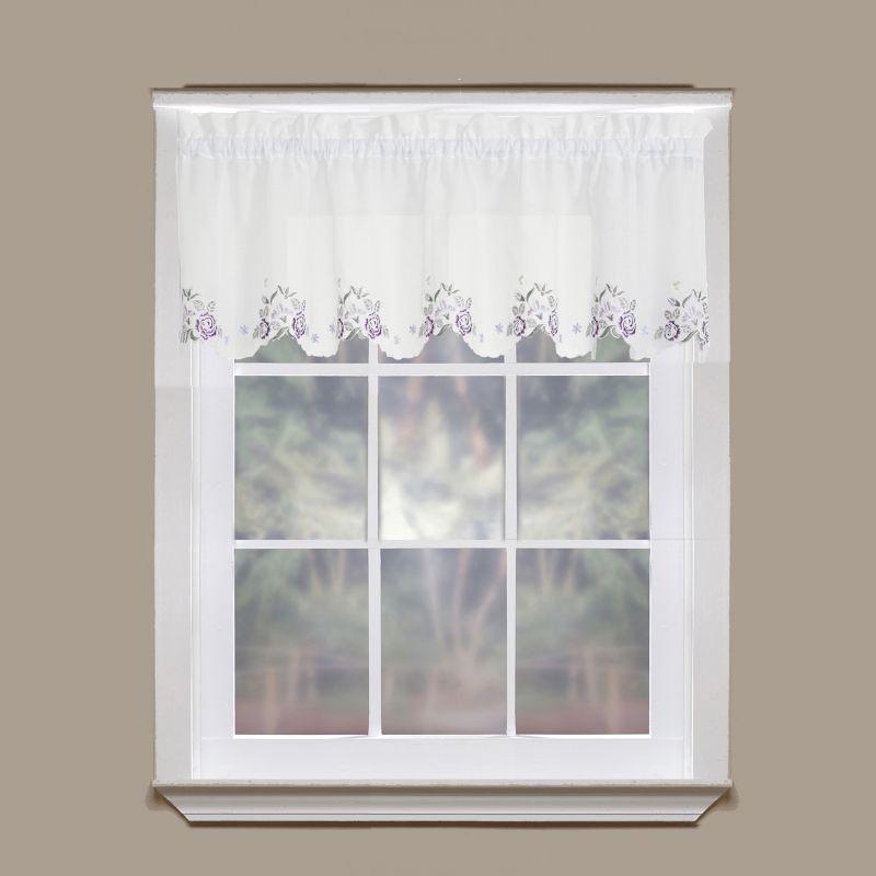 Today39;s Curtain Isabella SemiSheer Straight Valance  6039;39; x 14